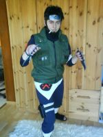 Naruto Shippuuden - Asuma - Let's fight! by Mada-Chan2009