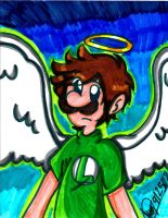 Mario: Angel Luigi by PrincessaaDaisy12