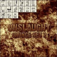 Onslaught's Grunge Set 2 by OnslaughtHW