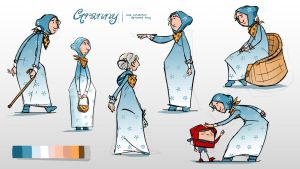 The Little Red Riding Hood's Granny by minifong