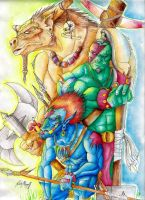 Orcish Horde :colored: by artfreakguy