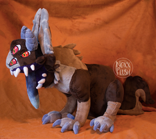 Shoulder Monster Plush by NoxxPlush