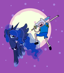 Finn and Luna by MikeTheUser