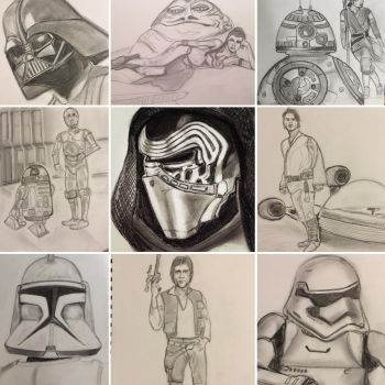 Star Wars collage by camias