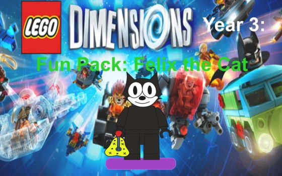 Lego Dimensions Felix the Cat by EthanTavitas