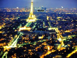 Paris by night by nicelandscape