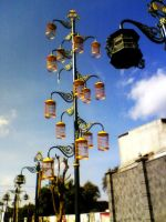 New inovation : Cages Lamp by Mr-Astroboy
