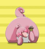 Pokemon: LickiLicky:Muffin God by malibukki