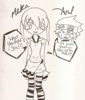 Maka and Soul by FeedTheBirds