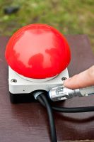 BIG red Button by Nokixel