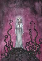 The girl with the tentacles by eitherangel