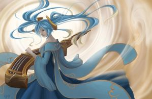 League of Legends Sona by Ayashiroi