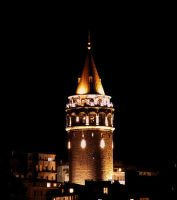 The Galata Tower by zhaffy