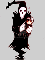 Shinigami-sama and son by Ronja-chan