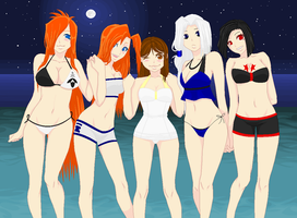 A Night at the Beach by anime-fan-addict