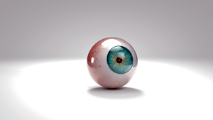 Cinema 4D  Realistic Eyeball Procedural Texturing by Exherion
