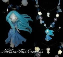 Little ghost polymer clay by Nakihra
