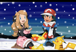 amourshipping winter by hikariangelove