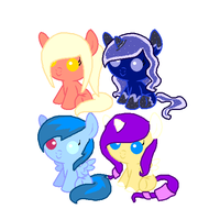 Baby Pony Adoptables by Honey-PawStep