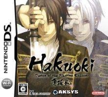Hakuouki DS Unofficial Box Art by Lufione