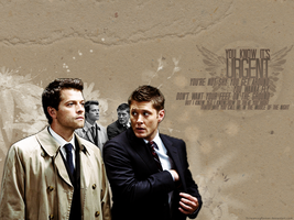 URGENT ~ Supernatural Wallpaper by ScreamingRomeo