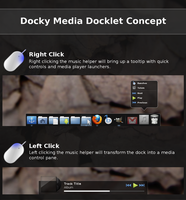 Docky Media Docklet Concept by LIB53