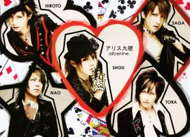 Alice Nine for hysterine by iyka