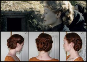 Eowyn's Funeral Braid by silvousplaits