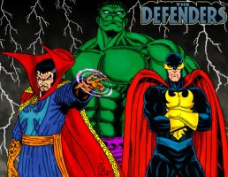 The Defenders by pascal-verhoef