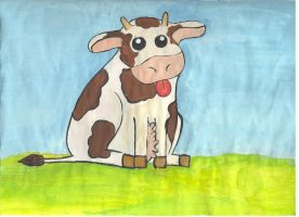 Pet-cow by Tuile-jewellery