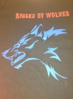 Wolf Silk Screen by EricaHowell203