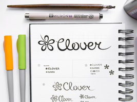 Clover Logo Design by Ramotion