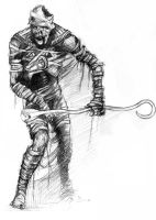 Mummy baseball player by Dozogovi