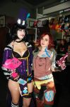 Lilith and Mad Moxxi (Borderlands 2) by Naiiar
