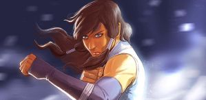 KORRA...READY...FIGHT! by deemonproductions