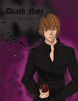 Light Yagami - Death Note by Pandemoniumswings