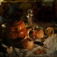 Still life with onion by kopalov