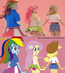 Equestria Girls - Live and drawings by CoNiKiBlaSu-fan