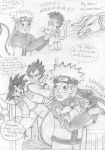 Naruto DBZ little bits 6 pt 2 by Princessvegata