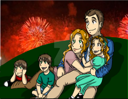 Fireworks by HinataElyonToph