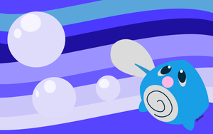 Poliwag Wallpaper  [UPDATED] by SkellerArt