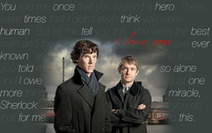 Sherlock Wallpaper by dramionehuddy