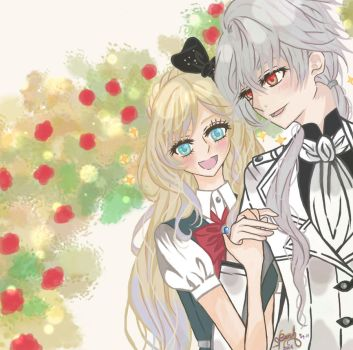 SDR2xMM_ Zen and Sonia by she-be