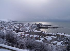 Aberystwyth In The Snow by Mr--T
