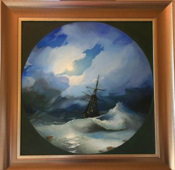Aivazovsky`s sea by StiuWa