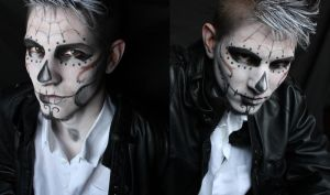 JasonXCalavera! Makeup inspired to AkiMao by SelyaChan