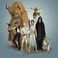 Avatar Gang-Star Wars by Byo2010