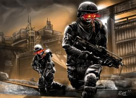 Killzone Speed Painting by dukstheartist