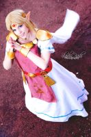 Cosplay Princess Zelda from The Legend of ZeldaLBW by MahoCosplay