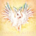 Happy Easter (from a reluctant angel) by Miguel-Santos